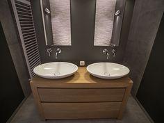 Houten badkamermeubels De Bilt