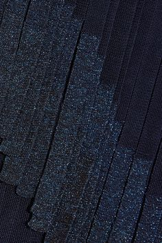 Hervé Léger | Metallic fringed bandage midi skirt | NET-A-PORTER.COM
