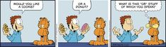 Garfield by Jim Davis for Wed 22 Apr Garfield 2, Jim Davis, Dungeons And Dragons, Comic Strips, The Funny, Sci Fi, Horror, Comic Books, Science Fiction