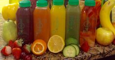 Www.squeezedonline.com has the best tasting cold pressed juice delivered fresh to your home or office.