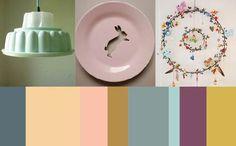 vintage inspired color scheme