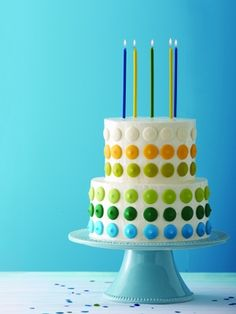 Easy cake recipe for parties | Maybe use candy melts instead of coloring all that fondant or buttercream?
