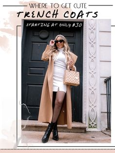 Where to Buy Trench Coats