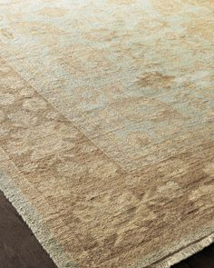 """""""Cliffton"""" Oushak Rug by French Market Collection at Neiman Marcus."""