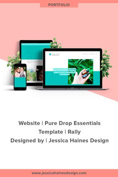 Pure Drop Essentials   Custom Squarespace website design for Pure Drop Essentials, and essential oil business empowering women to use essential oils for the well-being of their families. If you want to help take your business to the next level, click through to see what your new Squarespace website and brand refresh could look like!   www.jessicahainesdesign.com Banner Images, Drop, How To Make Buttons, Custom Fonts, Graphic Design Projects, Cool Websites, Design Process, Portfolio Design, Women Empowerment
