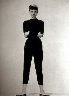 Audrey Hepburn sure could pull of the capri pant.  Take a hint from her and keep your capris tailored and slim.  Joanna Avant, Personal Stylist