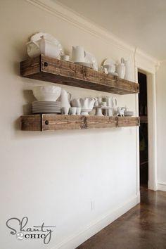22 fantastiche immagini su mensole per cucina | Deco cuisine ...