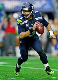 Russell Wilson #3 Seattle Seahawks