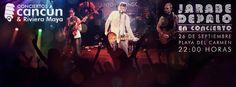 Jarabe de Palo en concierto!! @ConciertoCancun @SrFrogsPlaya #JarabedePaloPDC Venta de boletos: Experiencias ADO, Tiendas Extra