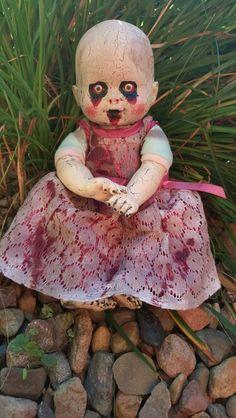 dead eyed dollie creepydoll halloween deaddoll dolly zombiedoll