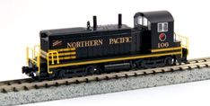 Kato USA Model Train Products EMD NW2 106 Northern Pacific N Scale Train >>> Read more reviews of the product by visiting the link on the image.