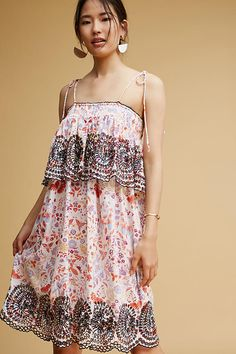 """Anthropologie Dress - Inspiration for the """"Mama Leilani"""" Dress sewing pattern"""