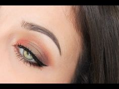 Too Faced Peach Palette Tutorial - YouTube