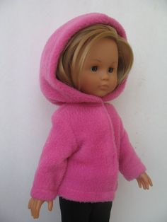 Corolle Les Cheries Doll Jacket with Hood by PachomDollBoutique, $10.99
