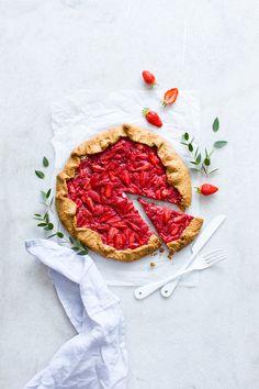 Tarte rustique aux fraises