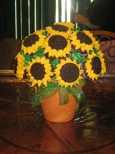 Sunflower Cupcake Bouquet! — Cupcakes!