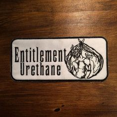 New Skate Patches for Entitlement Urethane  www.entitlementurethane.com