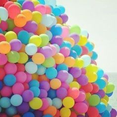 Balloons=Happiness :)