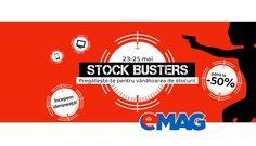 Maine dimineata, probabil pe la ora 7:00, avem eMAG Stock Busters, a 3-a editie din acest an.