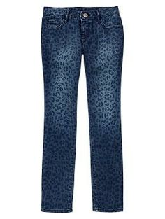 1969 leopard super skinny jeans