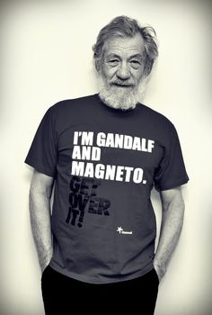 "Ian Mckellen ""I don't make much distinction between being a stand-up comic and acting Shakespeare - in fact, unless you're a good comedian, you're never going to be able to play Hamlet properly."""