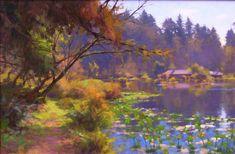 Jim McVicker Paintings: Plein Air Workshop at the Morris Graves ...
