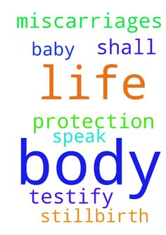 protection -  No more miscarriages and no more stillbirth. I speak life to my body and the body of my baby. I shall testify in the name of Jesus Amen.  Posted at: https://prayerrequest.com/t/EBv #pray #prayer #request #prayerrequest