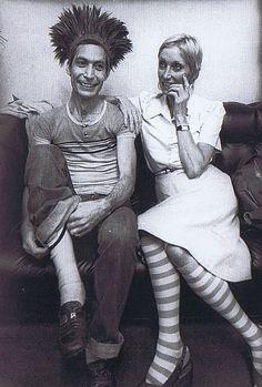 Charlie and Shirley Watts