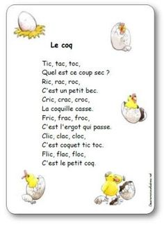 Dessine-moi une histoire, Ressources pédagogiques et jeux pour la maternelle… French Poems, French Nursery, French Worksheets, French Language Lessons, Nursery Rhymes Songs, French Education, Rhymes For Kids, How To Speak French, Teaching French