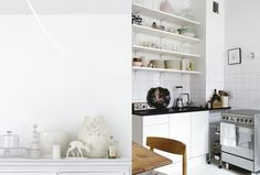 White kitchen. Picture by Petra Bindel