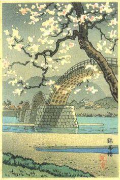 Date unknown - Koitsu, Tsuchiya - Kintai Bridge (2)