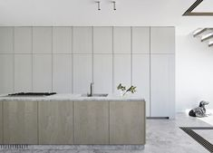 Formerly a weatherboard cottage with stables, Robson Rak created a single home with a modern architectural insertion for Albert Park Residence in Melbourne. Tamizo Architects, Mim Design, Casa Cook, Deco Restaurant, Boffi, Albert Park, Wine Cabinets, Park Homes, Custom Cabinetry