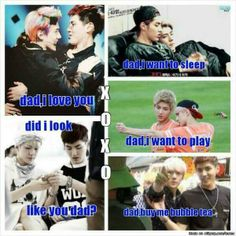 Kris, the daddy of EXO. But what will happen if our daddy leaves? The family will be broken, as will all our hearts