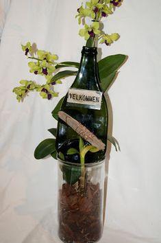 HH-Glas Glass Vase, Bottle, Home Decor, Decoration Home, Room Decor, Flask, Home Interior Design, Jars, Home Decoration