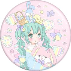 Manamoko - Badges - PHOOEY SHOP - Vocaloid - Hatsune Miku