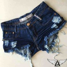 Teenage Girl Outfits, Teen Fashion Outfits, Teenager Outfits, Outfits For Teens, Cool Outfits, Ripped Shorts, Sexy Shorts, Cute Shorts, Riped Jeans