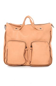 The Saint Ciaga Bag in Nude by Street Level