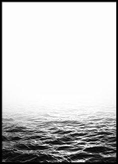 Ocean B&W, posters