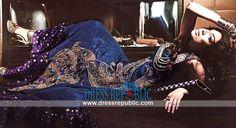 Iris n Magenta Sleeveless Shirt Zahra Ahmed Evening wear Dresses