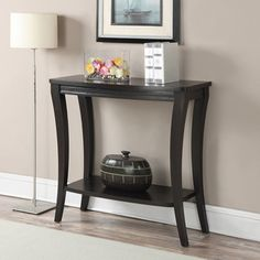 Convenience Concepts Newport Console Table With Shelf
