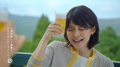キリン一番搾り 「石田ゆり子 ゴルフ」篇 30秒 Beer Girl, Japan, Face, Bamboo, Women, The Face, Faces, Japanese, Facial