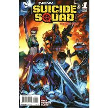 New Suicide Squad #1. DC Sep 2014. 1st Print. Harley Quinn, Deathstroke. NM