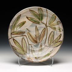Schaller Gallery : Artist : Michael Hunt & Naomi Dalglish - Bandana Pottery : Platter