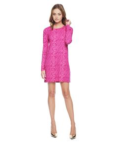WINTER PYTHON JERSEY SHIFT DRESS - Juicy Couture