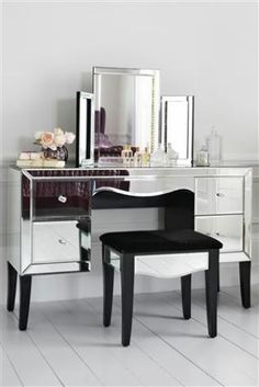 Gatsby Mirrored Dressing Table