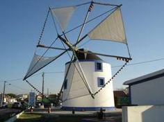 Windmill  Caixeiros, Silveira, #Portugal