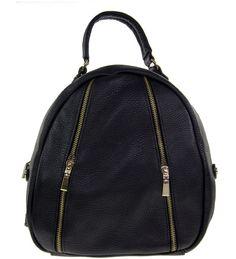 Black Leather Handbag Black Leather Handbags, Sling Backpack, Fashion Backpack, Backpacks, Backpack, Backpacker, Backpacking