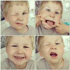 SMILE. Funny Brother.  Little boy loves fun.