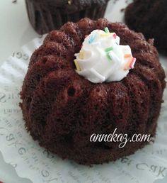 Mikrodalgada 3 dakikada kek - Gül cupcake | Anne Kaz