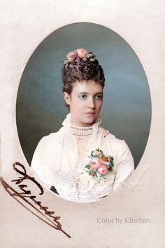 The Romanovs. Empress Marie Feodorovna (1847 – 1928) of Russia, mother of Nicholas II.
